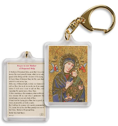 Our Lady of Perpetual Help Keychain